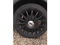 Alloy wheels from vauxhall corsa