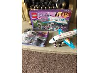 Lego friends plane with figures