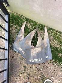 Toyota mug guards