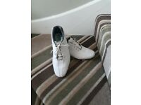 Footjoy DNA white golf shoes
