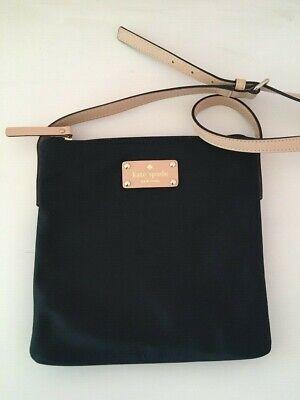 Kate Spade Black Nylon Cross Body Bag