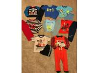 Boys age 3-4 pyjamas including cars