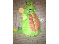 New baby dragon fancy dress 12-18months