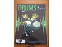 Rockschool Drums Grade 2 book with CD
