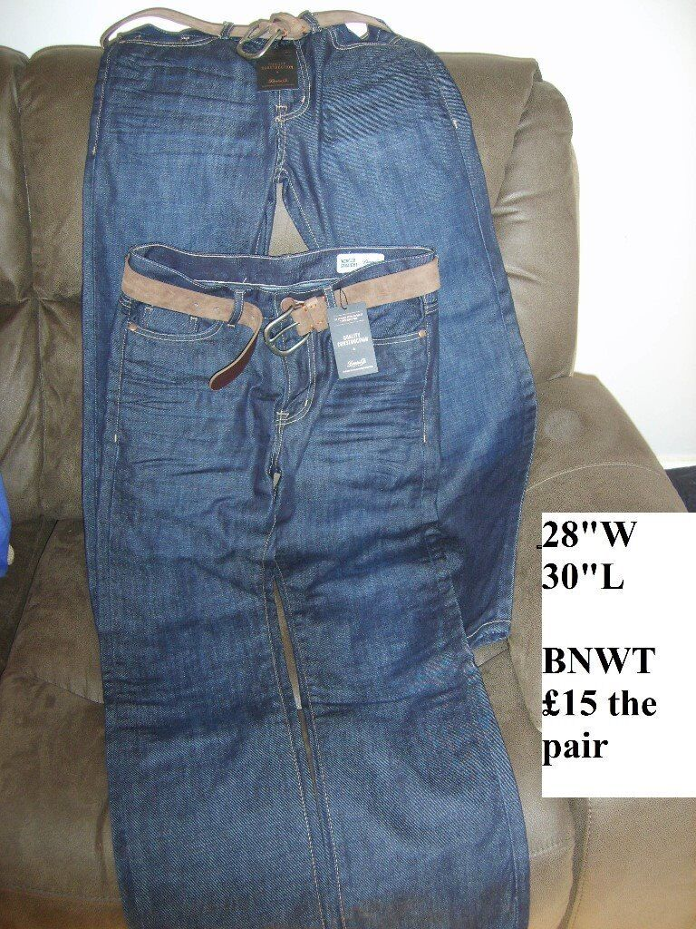 Mens jeans bnwt 28 waist 30 leg £15 for both collection from didcot from a smoke and pet free home