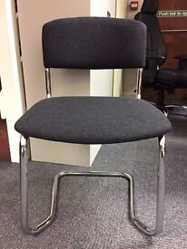 Cantilever Side Chairs. 40 In Stock!