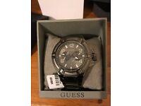 Brand new Half Price Guess Men's Quartz Watch Rigor (Tiesto) W0041G1, x