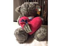 """Large """"ME TO YOU"""" Bear - NEW With Tags"""