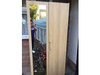 Two single Wardrobes mirror doors vgc