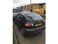 DAEWOO LANOS 1.4 PETROL 3dr MOT MARCH 2018