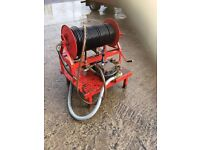 Heavy duty PTO Driven drain jetter/pressure washer