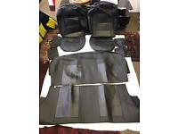 PVC Leather Car Seat Covers / Protectors in Black for TOYOTA Yaris 2006 to 2010