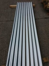 ROOF SHEETS Galvanised Corrugated Roofing CI Sheets Unused 8' LONG