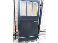 2 large reclaimed garage doors