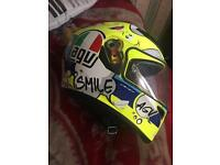 AGV K3 SV excellent condition no marks size small with pin lock visor anti fog insert