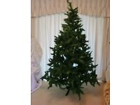7 Foot Tall 5 Feet at Widest Diameter Artificial Pine Christmas Tree with Metal Stand