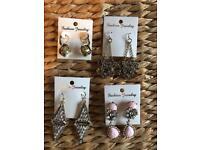 Job lot - vintage style fashion earrings