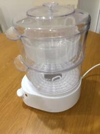 Cookworks Electric 2 bowl Steamer
