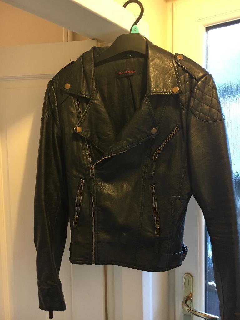 c830c6b651d000 Miss selfridge faux leather jacket