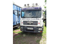 Man TGL 8.180 7.5 Tonne sleeper cab and chassis 10 mths MOT ideal horse box conversion