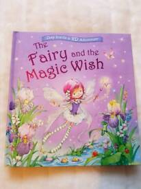 The Fairy and the Magic Wish 3D book