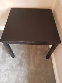 Extending Dining Table - Black/Brown