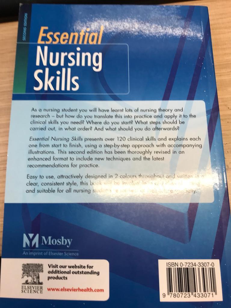 Essential Nursing Skills Book 2nd Ed