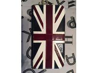 Aspinal of London Union Jack purse