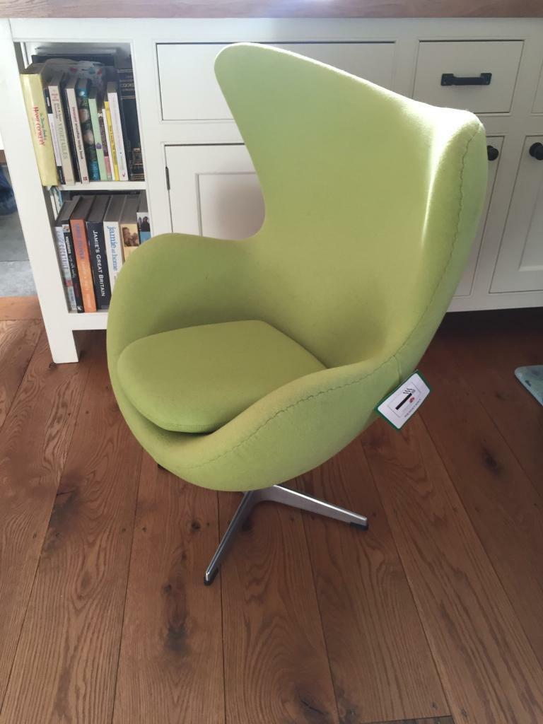 Child's egg chair
