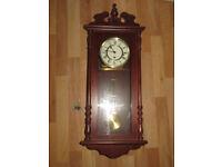 wall clock, Wm Widdop wall clock