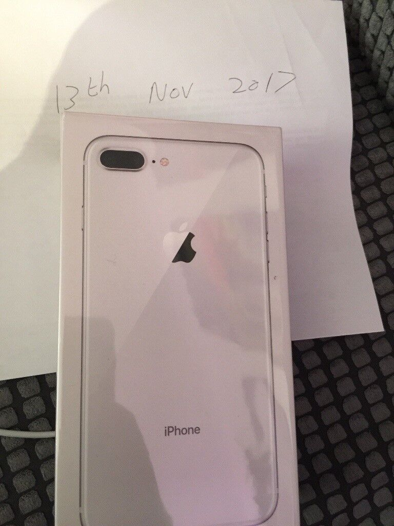 Brand new Apple iPhone 8plus 256gb silver on 3 NOW SOLD