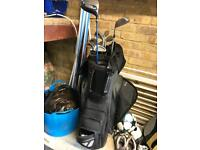 Golf Taylor made bag with clubs