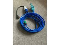 Whale Aquasource Mains Water Hook-up Pack and Continental Electric Mains Adaptor
