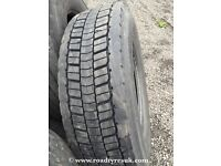 Used tyres - second hand tyres for trucks 295/80 R22.5