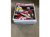 Manchester United 08/09 programmes