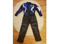 Jacket and trousers DUCHINNI for motorbike