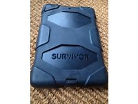 Griffin Survivor Ipad mini case (1-3), Black
