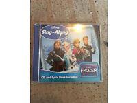 Frozen sing-along CD