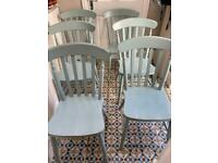 Dining room chairs (set of 6)