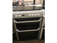 INDESIT 60cm Gas Cooker - WHITE