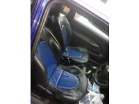 Fiesta leather seats