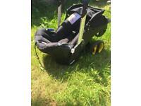 Doona car seat / pushchair