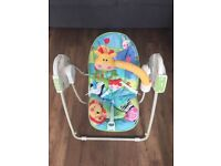 Fisher Price Electric rainforest swing