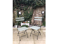 2x Garden chairs - Very Good condition— N5