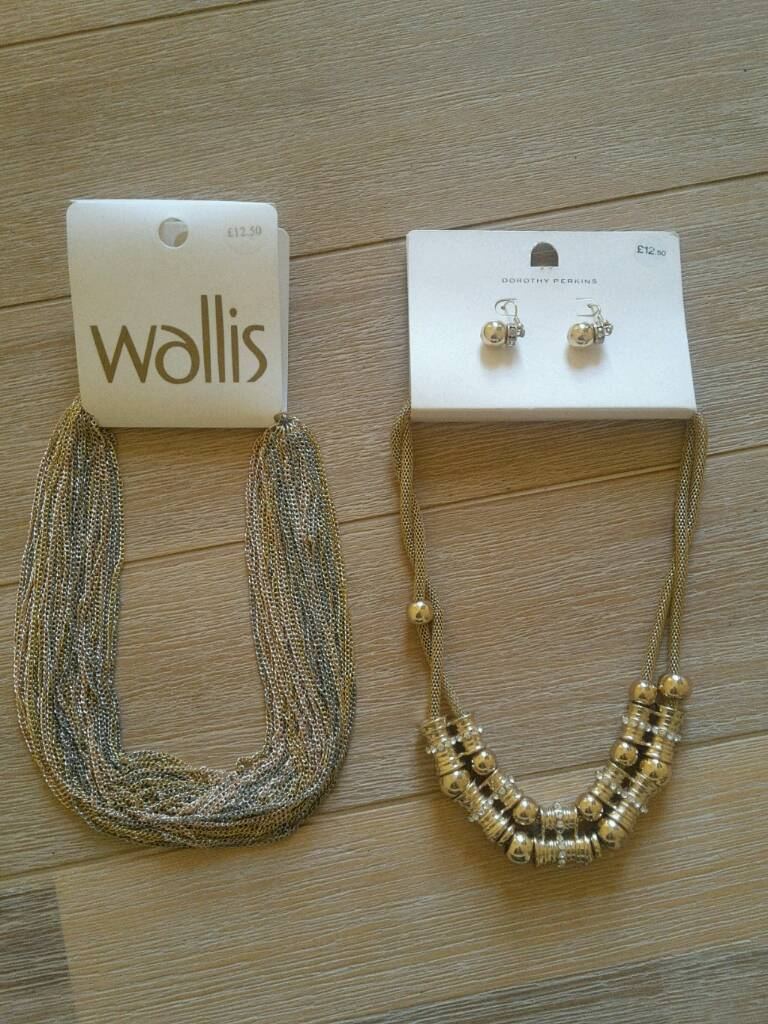 NEW DOROTHY PERKINS AND WALLIS JEWELLERY SETS