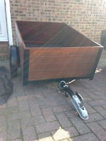 Camping Trailer. Excellent condition, new tyres. Spare wheel and cover