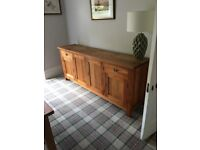 Solid Oak Dining Table & 6 Chairs plus Matching Solid Oak Sideboard £800