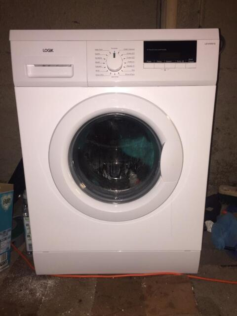 Nearly New Logik L814wm16 Washing Machine White In Boston Lincolnshire Gumtree
