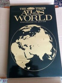 THE TIMES COMPREHENSIVE ATLAS OF THE WORLD.