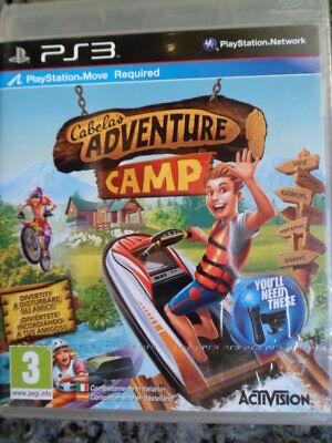 Cabela´s Adventure Camp PS3 Nuevo Cabelas acción aventura